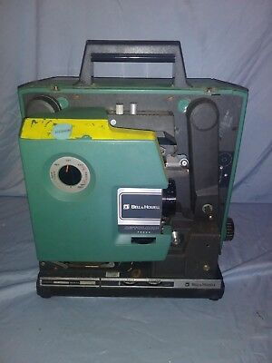 Vtg-Bell-amp-Howell-1585-16mm-Filmosound-Sound-Film-Movie-Projector-Parts-Repai