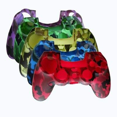 Camouflage Silicone Case Skin Grip Cover For Playstation 4 PS4 Controller AU
