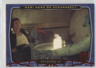 2007 Topps Star Wars 30th Anniversary Red Foil #39 Episode IV - Card 4s2