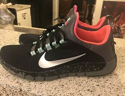 low priced 6f1ae 025b5 Nike Free Trainer 5.0 TR Running Shoes Black 644682-003 size 9