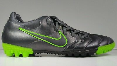 Nike Mens Rare Nike5 Bomba PRO TF 415119-003 Grey Green Soccer Shoes Football