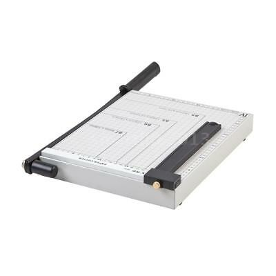 A4 To B7 Paper Cutter Photo Trimmer Guillotine Machine Metal Base F/ Office G1S3