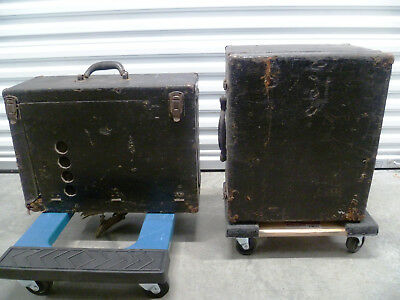 Ampro 16mm Sound Film Projector Tube Amplifiers VINTAGE COLLECTIBLE