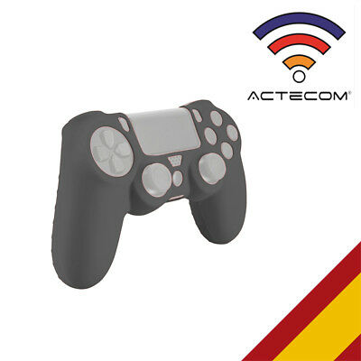 Actecom® Funda Carcasa Silicona Gris Mando Sony Ps4 Playstation 4
