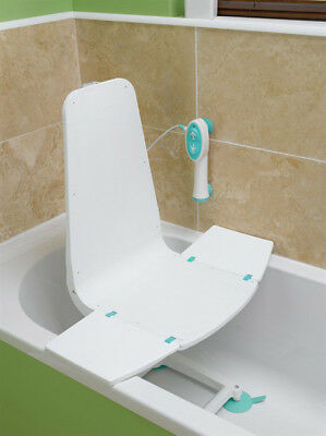 Easy Fit Ultra Lightweight Electric Splash Bath Lift With Hand Control