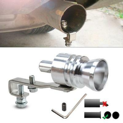 Universal Turbo Sound Fake BlowOff Simulator Car Exhaust Muffler Pipe Whistle US