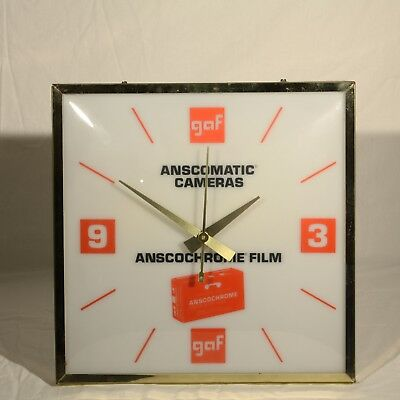 Display Clock, Anscomatic Cameras, Anscochrome Film, working, lights up!