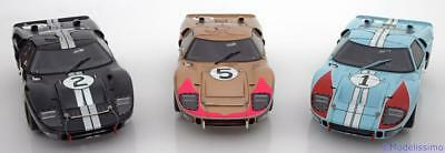 1:18 Exoto Ford GT40 MK II 1-2-3 Finish, 24h Le Mans 1966