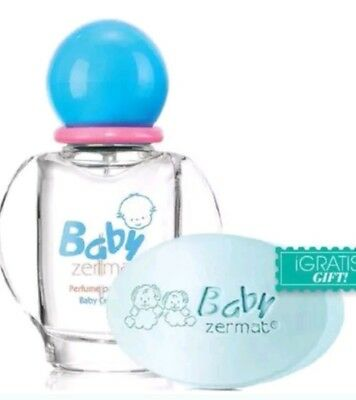 Zermat Baby Michelle Cologne with soap.. Perfume Michelle para Bebe Free Soap