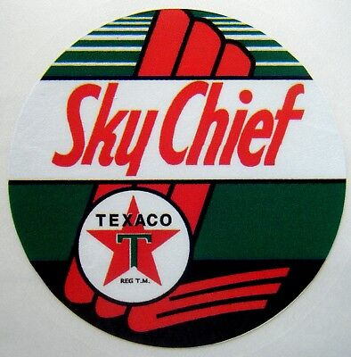 Texaco Gasoline Sky Chief Old Logo Embroidered Mens Polo S-6XL, LT-4XLT New