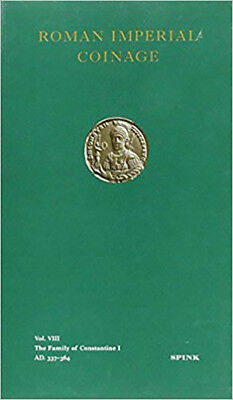 The Roman Imperial Coinage Volume VIII