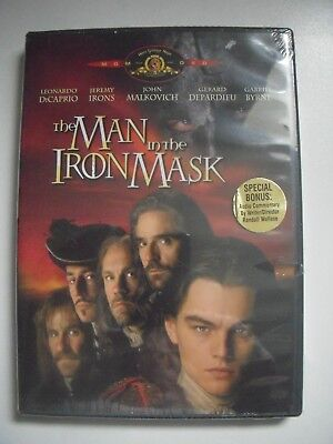 the Man in the Iron Mask DVD (1998) Feat. Leonardo DiCaprio - NEW!!