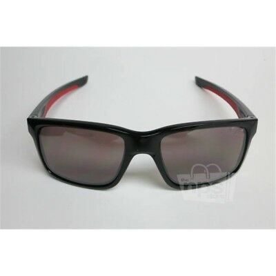 f82acc8886 Oakley Men s Custom Polarized Black Mainlink Prizm Daily Sunglasses  56-17-138