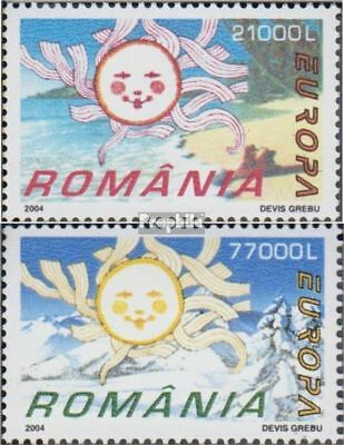 Romania 5822-5823 (complete.issue.) unmounted mint / never hinged 2004 Europe: h