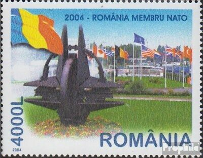 Romania 5806 (complete.issue.) unmounted mint / never hinged 2004 NATO Accession