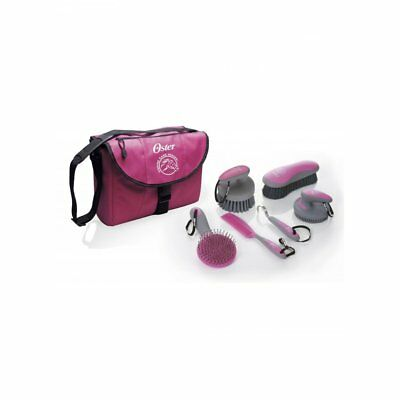 Oster 7 Peice Grooming Kit Pink - Horse Grooming Set