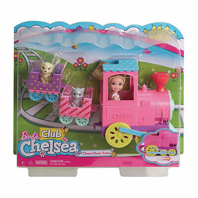 Barbie Chelsea Play Train Playset with Puppies - SALE!!!! 50% off RRP!!!
