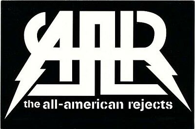 the All-American Rejects Move Along RARE promo sticker '05