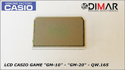 """Vintage Casio Lcd Game """"gm-10"""" - """"gm-20"""" - Qw.165"""