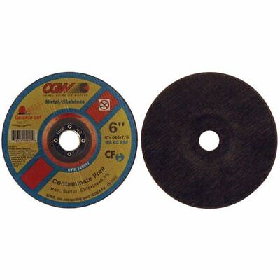 """CGW-Camel 45017 6"""" x .045"""" x 7/8"""" Type 27 Quickie Cut-Off Wheels (Pack/20)"""