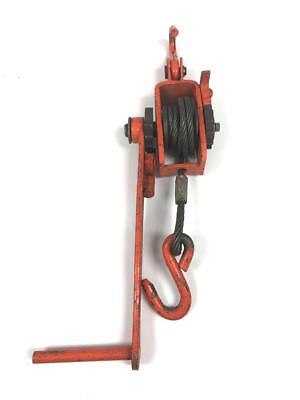 JET Cable Puller Lever Hoist Come Along Model A-600 1/4 Ton 10ft Lift
