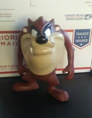 Vintage large Looney Tunes Tasmanian Devil TAZ figure good condition 1995 WB