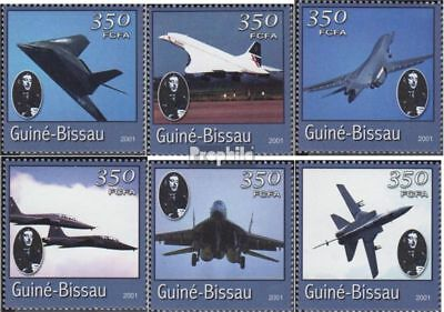 Guinea-Bissau 1779-1784 unmounted mint / never hinged 2001 Transportation- and T