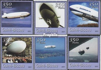 Guinea-Bissau 1773-1778 unmounted mint / never hinged 2001 Transportation- and T
