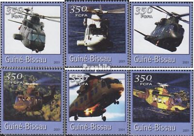 Guinea-Bissau 1767-1772 unmounted mint / never hinged 2001 Transportation- and T