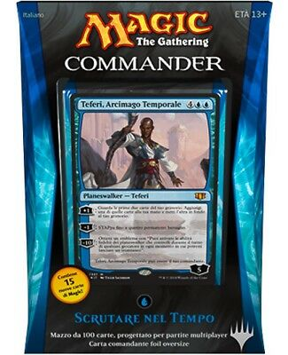Deck Commander 2014 Peer in time MTG MAGIC C14, New, Italiano
