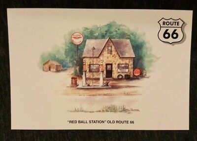 Red Ball Station, Old Route 66, Lebanon, MO 4x6