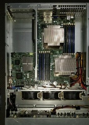 SuperMicro X8DTU-F in CSE-216 Chassis 2xIntel E5620 2.4Ghz; 16GB; 2xPS's