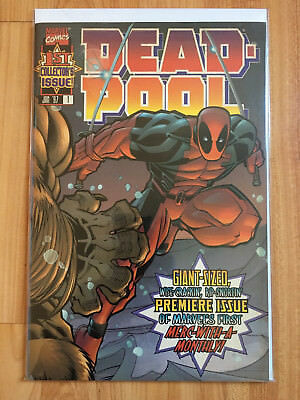 Deadpool #1 (1997 Marvel) -- 1ST COLLECTOR'S ISSUE!