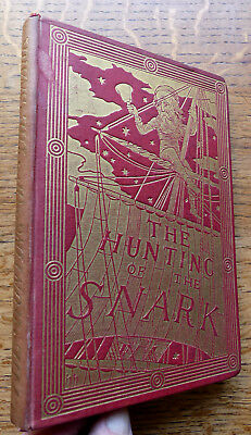 The Hunting of The Snark 1890 Lewis Carroll Henry Holiday 19th Thousand VGC