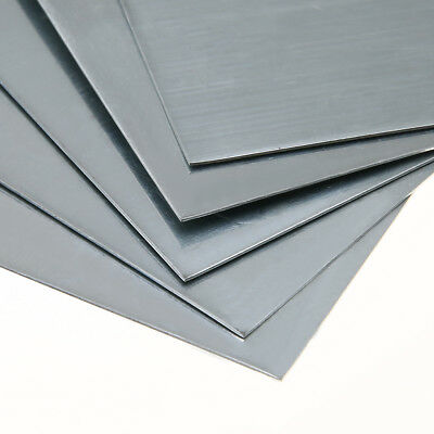 5 x High Purity 99.9% Pure Zinc Zn Sheet Plate 100x100x0.5mm for Science Lab