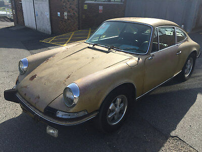 Porsche 911T 2.4 1973 Non Sunroof Coupe UK REGISTERED   FAJ 150L