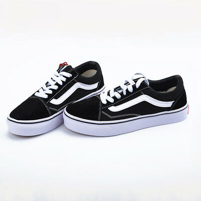 bad5542132 NEW VAN Classic OLD SKOOL Low Top Casual Canvas Sneakers For Mens Womens  Shoes