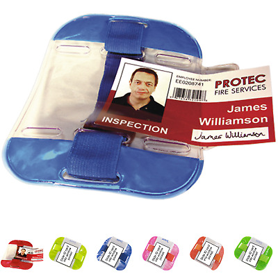 Armband Security Doorman Id Card Badge Holder Sia Door Supervisor Site Identity