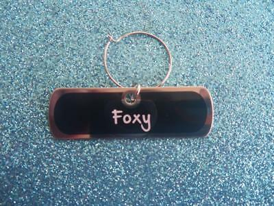 Foxy Glass Charm  Suitable for  Champagne, Wine, Cocktail Glass