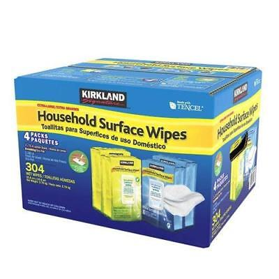 Kirkland Signature Household Surface Extra Large Disinfect Wipes