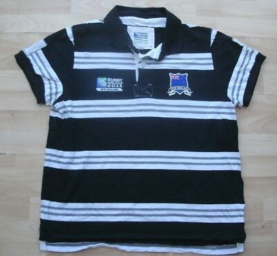 New Zealand World Cup 2011 Rugby Polo Shirt Jersey Top Xl Adult