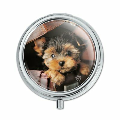 YORKIE YORKSHIRE TERRIER Dog Briefcase Pill Case Trinket Gift Box