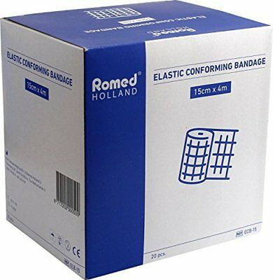 320 (16 x 20) St Bandages Conforming Individually in Foil Packaging (15cm x 4m)