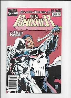 Punisher Annual #2 Higher Grade (8.5/9.0) Moon Knight
