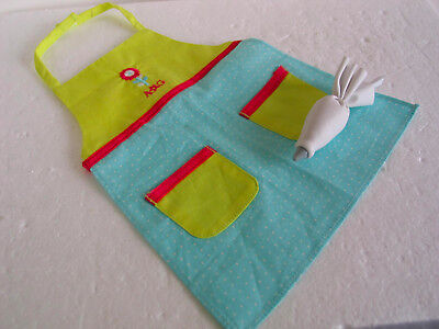 Authentic American Girl Doll 2010 Baking Apron & Icing Pouch (2 pc.)