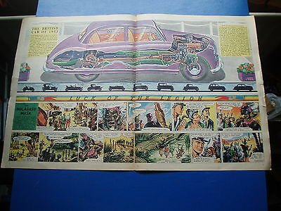 Eagle Cutaway Drawing  23/10/1953  British Car Of The Year 1953 Vgc
