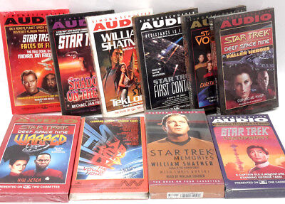 Star Trek Audio Cassette Book Collection-$10-$25 Value-All 50% OFF! -Your Choice