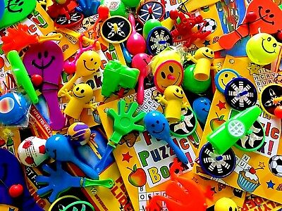 50 Party Bag Fillers - Prizes Toys Pinata Loot Wedding Favours Stocking Bulk