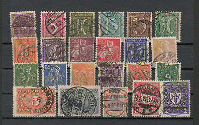 GERMANY REICH (Deutsches Reich)- NICE SELECTIO USED STAMPS-LOT 18