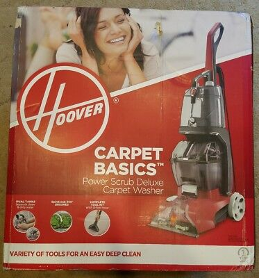 FH51000NC *BRAND NEW IN BOX* Hoover Dual Power Max Home Expert Carpet Cleaner